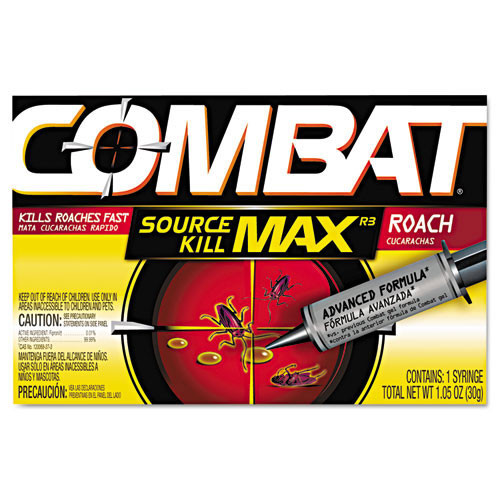 Combat Roach Gel Insecticide one 30 gram applicator