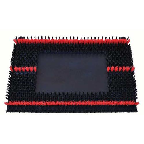 Malish Sonicscrub 702420 14x20 inch scrub brush .016 nylon for square strip scrub machines