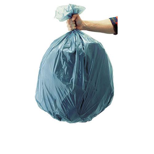 Rubbermaid rcp501188gra 55 gallon trash bags case of