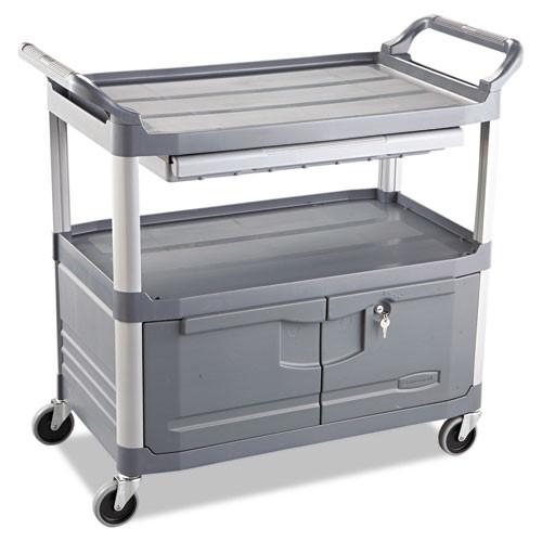 Rubbermaid 4094gra instrument cart 4094 rcp4094gra 300 lb capacity 40x20 gray