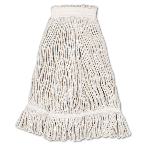 Boardwalk BWK4032C cotton looped end fantail wet mop heads number 32 1 inch headband case of 12
