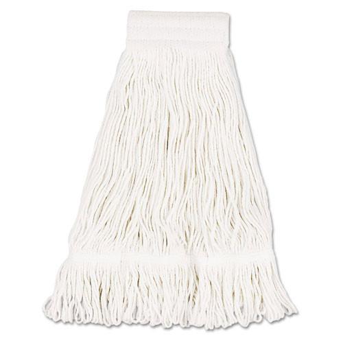 Boardwalk BWK524C cotton looped end fantail wet mop