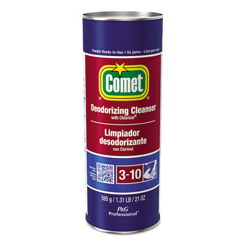 Comet powder cleanser disinfectant with chlorinol 21oz per container case of 24 containers Procter and Gamble PGC32987CT