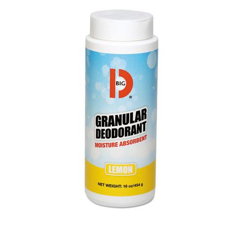 Powder carpet deodorizer granular deodorant lemon 16oz size case of 12