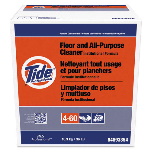 Tide floor and all purpose cleaner 36lb. box