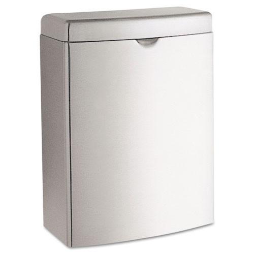 Bobrick BOB270 sanitary napkin receptacle stainless steel