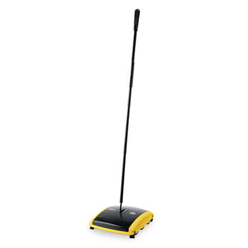 Rubbermaid 421388bla carpet sweeper dual action for bare floors or low pile carpet black