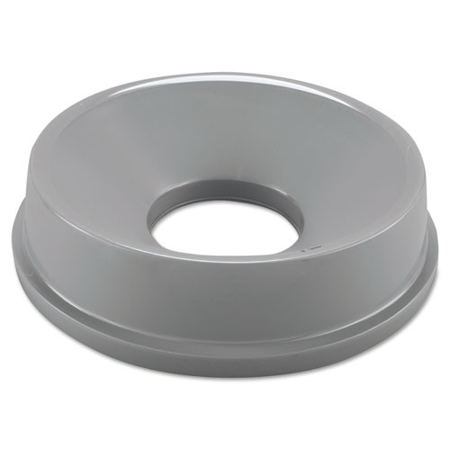 Rubbermaid 3548gra trash can funnel top for 2947 3546 round gray