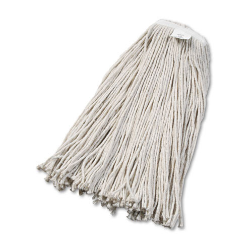 Boardwalk BWK2032CCT cotton mop heads number 32 1 inch headband case of 12 replaces UNS424C