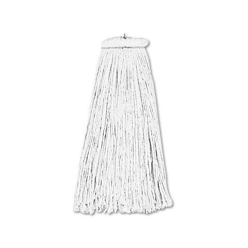 Boardwalk BWK716RCT lieflat rayon mop heads 16oz case of 12 replaces UNS724C