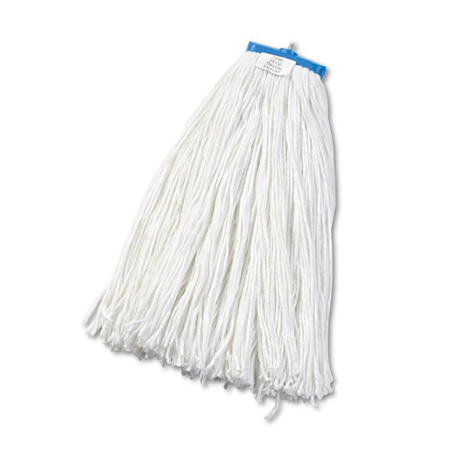 Boardwalk BWK724RCT lieflat rayon mop heads 24oz bolt style case of 12 replaces UNS920Y
