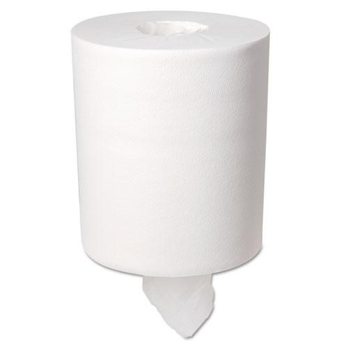 Boardwalk BWK6400 centerpull paper hand towels white 2