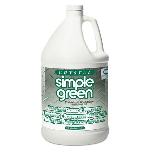 Simple Green crystal industrial strength cleaner degreaser one gallon bottle case of 6 smp19128