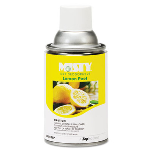 Misty AMR1001744 dry deodorizer refill lemon peel case of 12 replaces amra21112lp