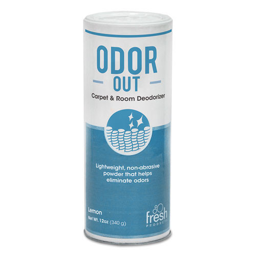 Fresh frs121400bo odor out rug and room deodorant bouquet scent 12oz can case of 12