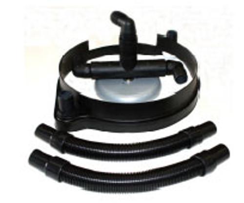 Hawk HP0031DC17BRUTEKIT vacuum hose port dust control kit