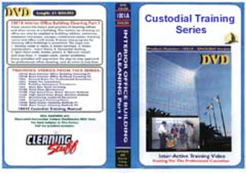 Custodial Training Series Kit a complete set with 13 videos and printed manual American Training Videos 1001kit