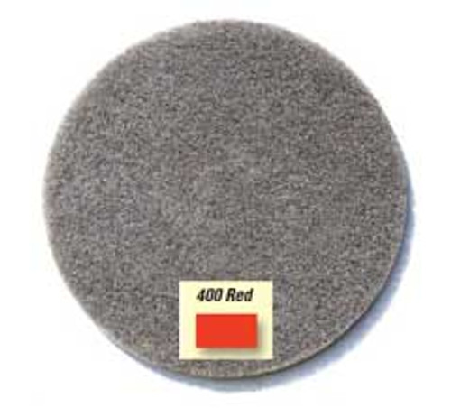 Gorilla diamond floor pads for stone marble granite concrete 21 inch red 400 diamond grit for aggressive removal of coatings and scratches case of 2 pads
