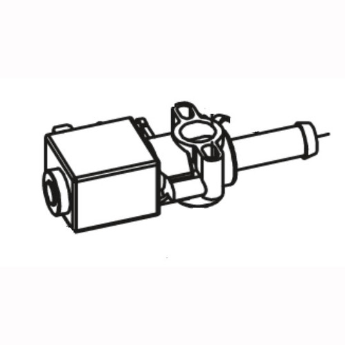 Betco E8246700 solenoid valve for single brush base assembly replaces part number 421121 for Vispa 35B or Genie floor scrubber