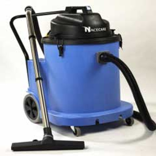 NaceCare WV1800DH wet only canister vacuum 899720 20 gallon with BB7 kit large diameter dump hose