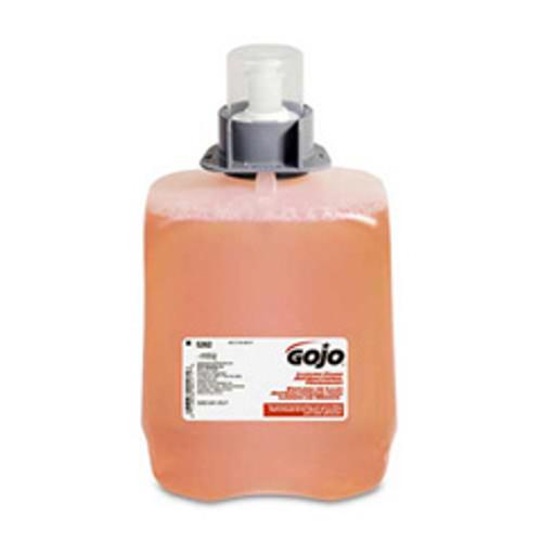 Gojo goj526202 fmx20 2000ml foaming handsoap refills luxury foam antibacterial handwash case of 2 for fmx20 dispensers