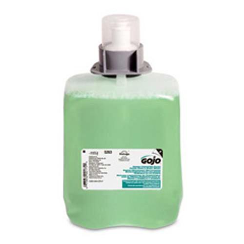 Gojo goj526302 fmx20 2000ml foaming handsoap refills luxury foam hair and body wash Green Seal Certified case of 2 for fmx20 dispensers