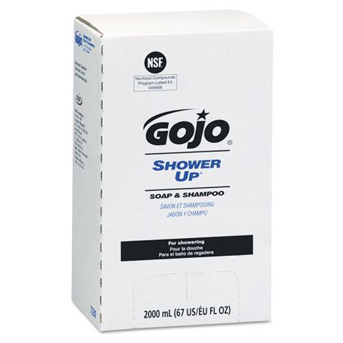 Gojo goj7230 2000ml pro 2000 handsoap refills shower up soap and shampoo for dispenser goj7200