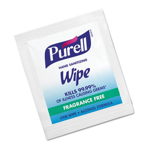 Purell hand sanitizer sanitizing wipes individually wrapped ten 100 count boxes case of 1000 individually wrapped wipes Gojo goj902210ct