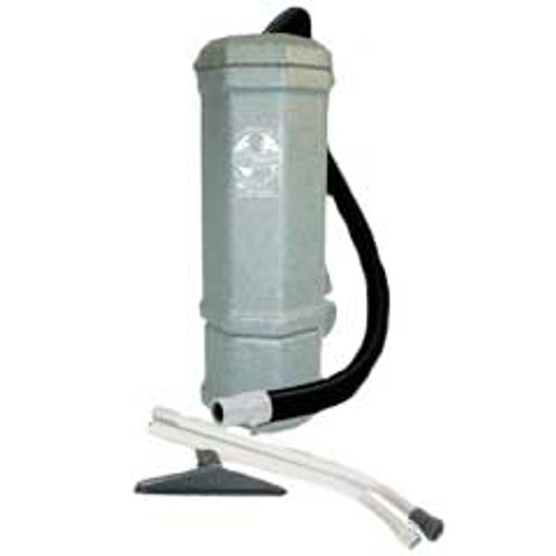 Mercury Ace 888888 backpack vacuum with wand and tools ace 10 quart 1.75hp 2 stage