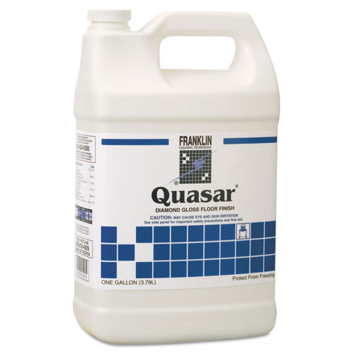 Franklin fklf136022 quasar floor finish 25 per cent solids one gallon size case of 4 bottles replaces frkf136022