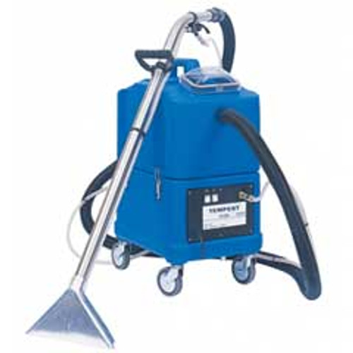 NaceCare TP8X Tempest carpet extractor 8025152 canister 8 gallon 3 jet stainless steel wand 20 foot hose kit 130psi pump