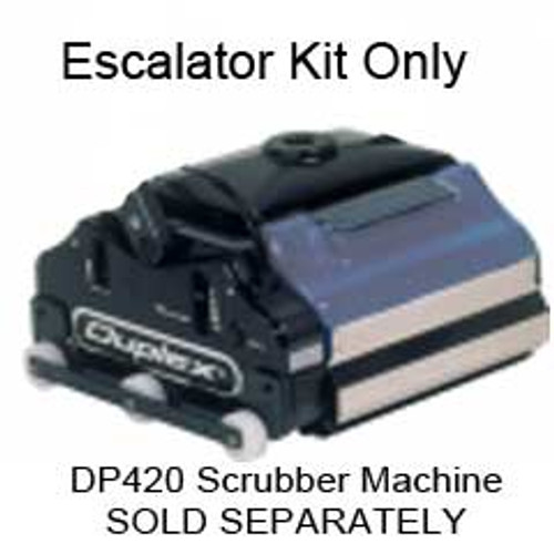NaceCare 420497 Escalator Cleaning Attachment Kit for DP420 Hydrowasher Duplex Floor Scrubber