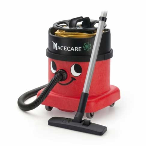 NaceCare PSP380 dry canister vacuum with AH1 performance