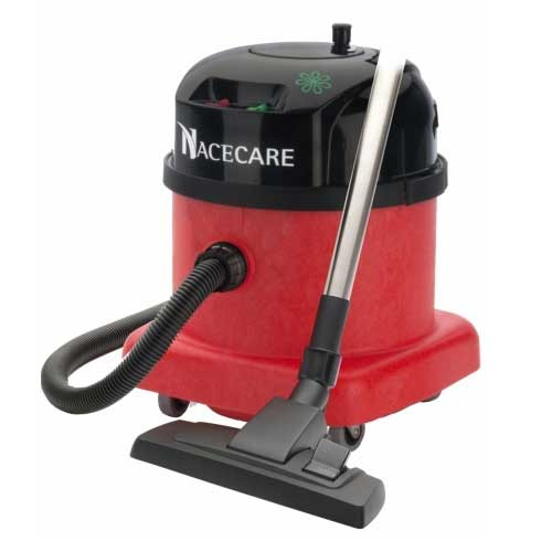 NaceCare PPR380 dry canister HEPA vacuum two speed
