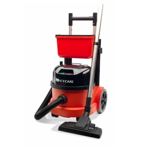 NaceCare PPR390 dry canister HEPA vacuum two speed motor with AST1 performance tool kit 4 Gallon 0.9 hp 900768