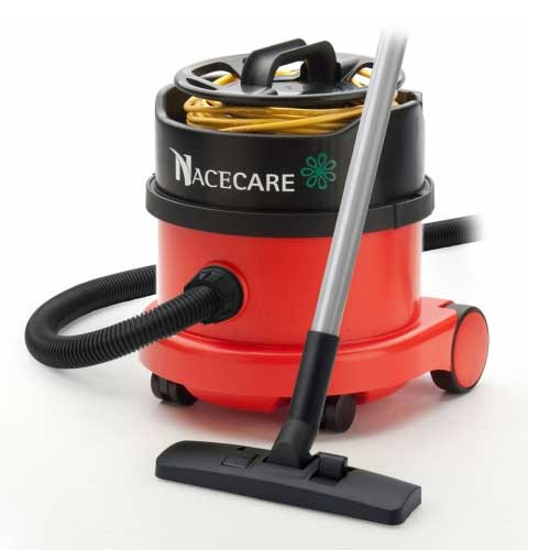 NaceCare PSP200 dry canister vacuum with AH3 air turbo tool kit 2.5 Gallon 0.9 hp 8027101