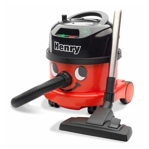 NaceCare PPR200 Henry dry canister HEPA vacuum two speed motor with AST3 air turbo tool kit 2.5 Gallon 0.9 hp 8027111