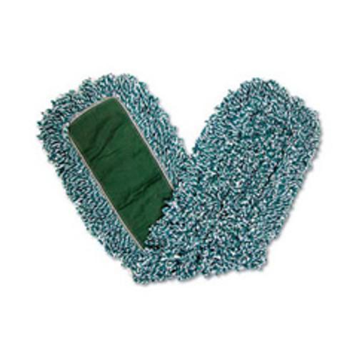 Rubbermaid j855 microfiber loop dust mop synthetic backing 36 inch x 5 inch case of 12 mops