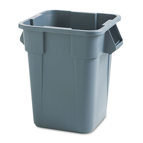 Rubbermaid 3536gra trash can 40 gallon Brute square container gray replaces rcp3536gra rcp353600gy