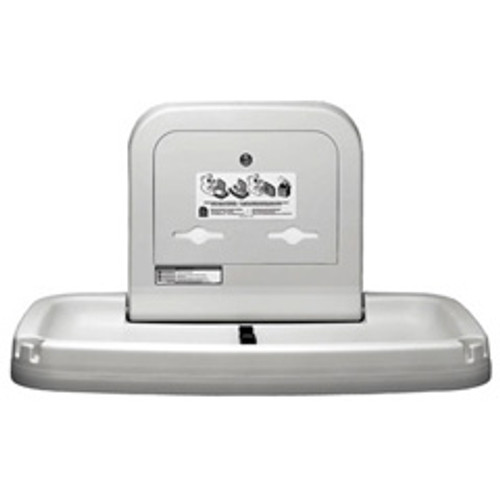 Baby changing station horizontal cream by Koala Kare