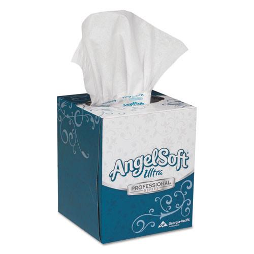 AngelSoft GPC46560 ultra premium facial tissue white 7 3 5x8.5 96 box 36 boxes carton
