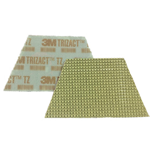 3M 86018 Trizact Diamond TZ Pads gold coarse grit for polishing concrete or stone box of 4 trapezoid pads 860183MBX4 gw