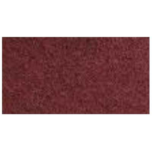 Redwood maroon strip floor pads 18x26 inch x .250 inch thick rectangular dry strip or wood floor recondition pads 175 to 300 rpm case of 10 pads by etc 94