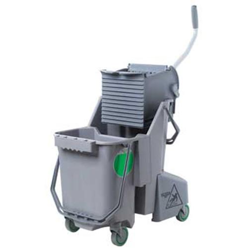 Unger COMBGGW SmartColor gray mop bucket wringer combo 8 gallon GW