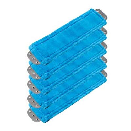 Unger MM40BGW SmartColor blue antibacterial microfiber mops