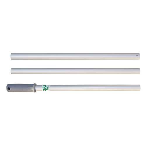Unger MS14GCS10GW compact aluminum 3 section mop handles 55 inches case of 10 GW