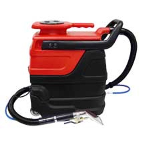 Sandia indy automotive 507000 auto detail upholstery cleaner carpet extractor with heater 3 gallon canister with hand tool hose kit 2 stage motor 55psi pu