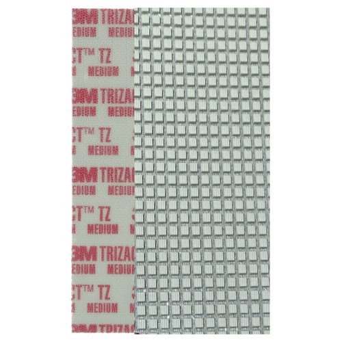 3M 86026 Trizact Diamond TZ Strips red medium grit for polishing concrete or stone box of 6 rectangular strips 860263MBX4 gw