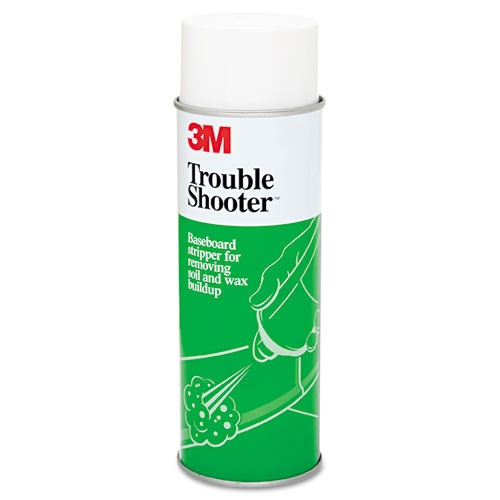 3M 14001 Troubleshooter MMM14001 baseboard stripper for removing floor finish 21oz aerosol cans case of 12 cans gw