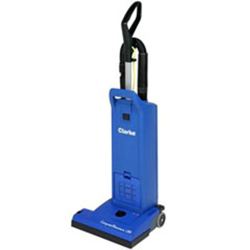 Clarke CarpetMaster 215 vacuum 9060408010 15 inch dual motor upright HEPA with onboard tools